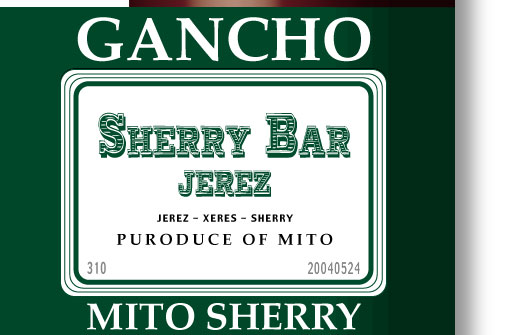 GANCHO SHERRY BAR